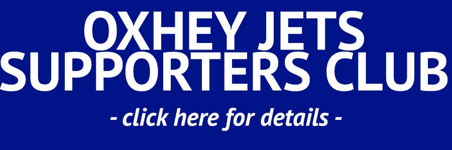 Oxhey Jets Supporters Club Banner