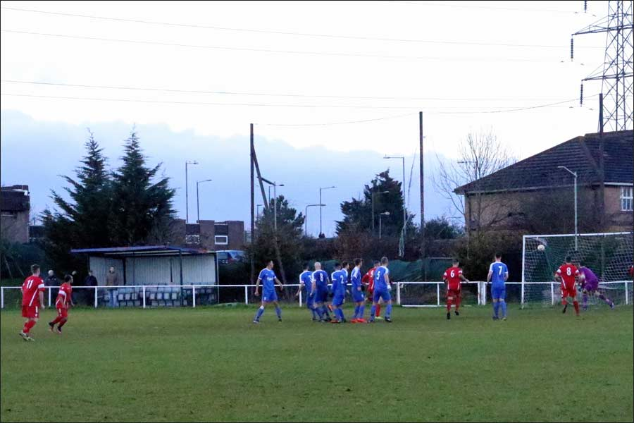 Well taken free-kick levels it for the second time for Fosters