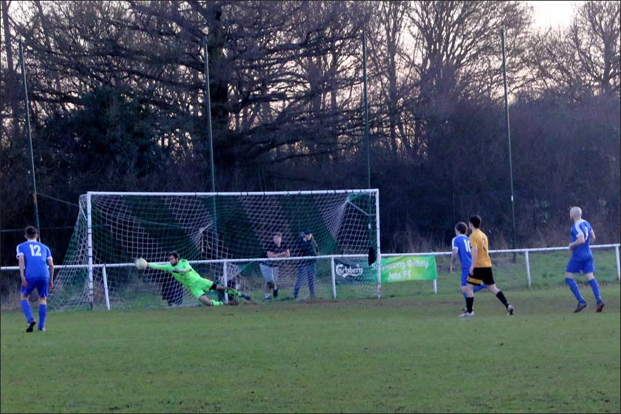Another cracking save from the Stotfold keeper