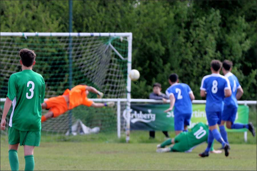 Another fine save from Rob Partington
