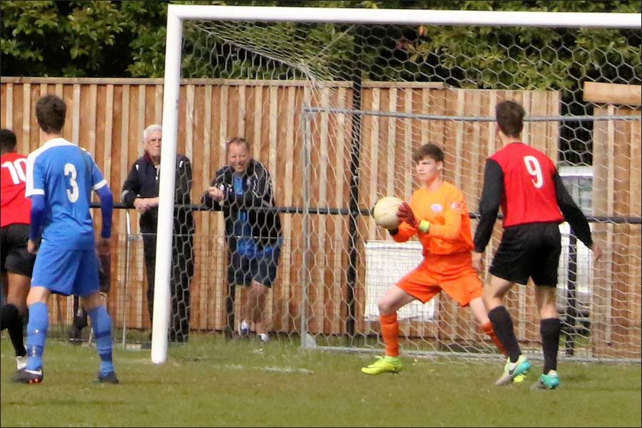 Young Billy made three outstanding saves as Jets came under pressure