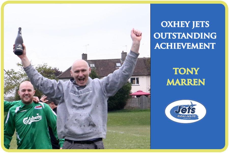 oxhey jets achievement award