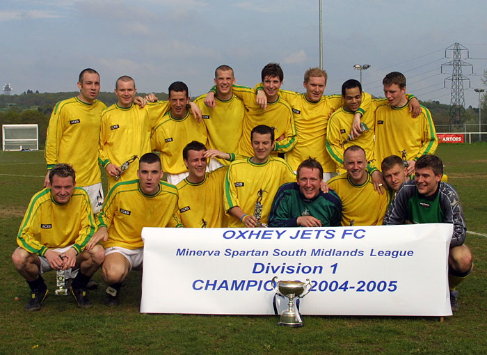 Jets winning team in Spartan Division One in 2004-05