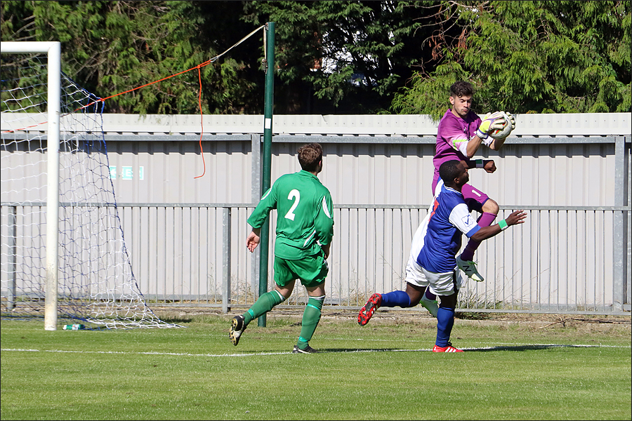 Safe hands from Rob Partington