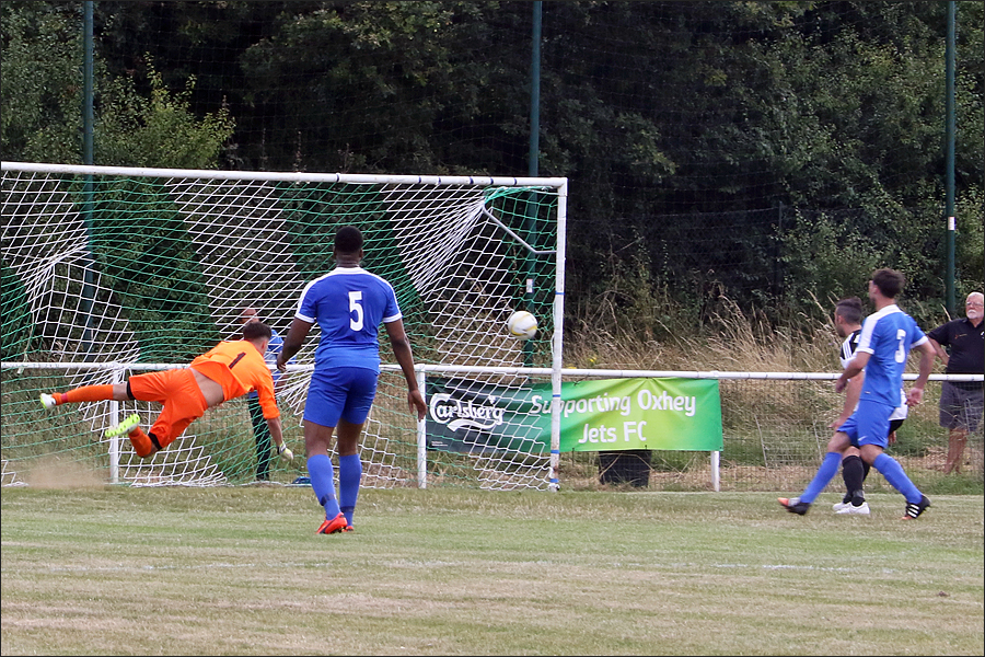 Flying save from Rob Partington
