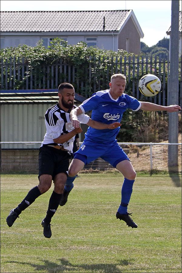 Ben Collins shone and took Warren's Man of the Match pick