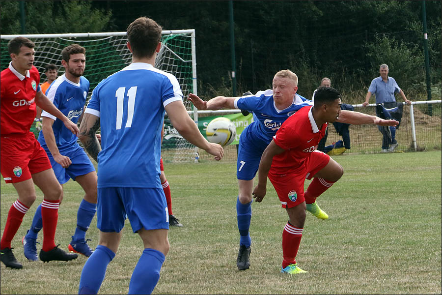 Solid defence from Ben Collins