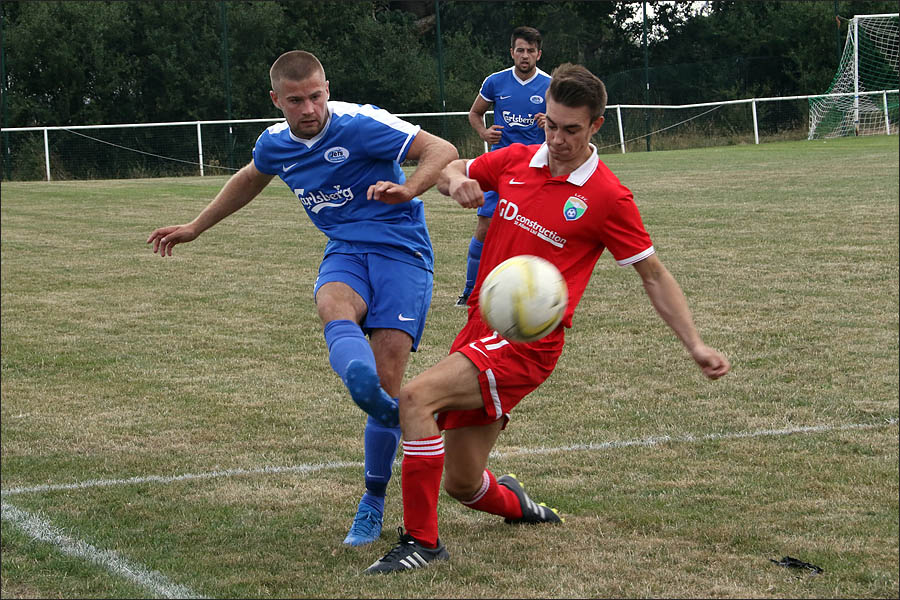Scott Pugsley did well in the full back role