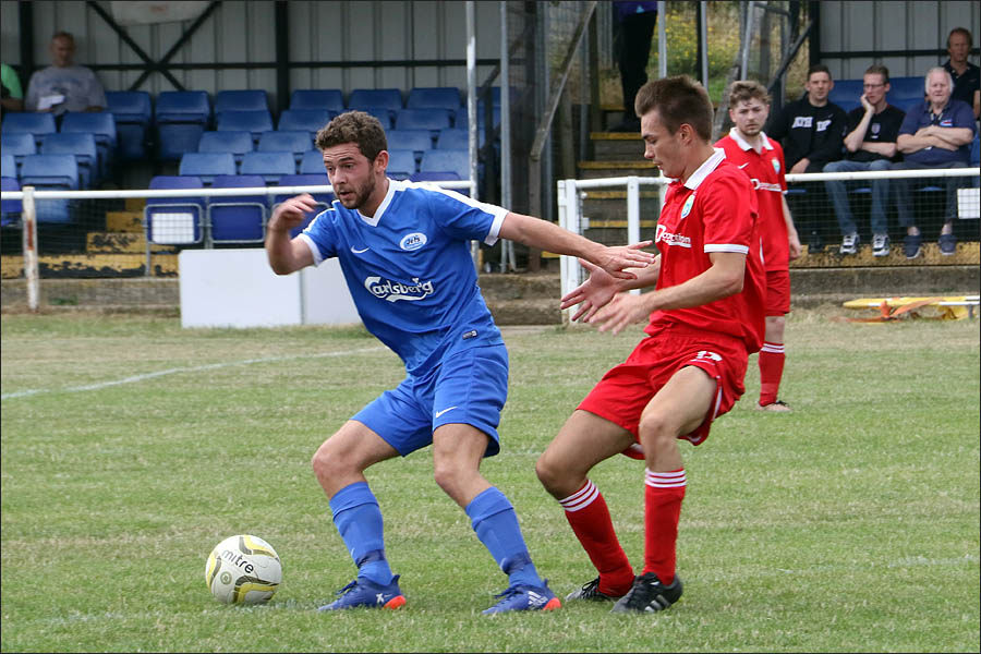 Leigh Stevens worked hard in midfield to keep Jets moving