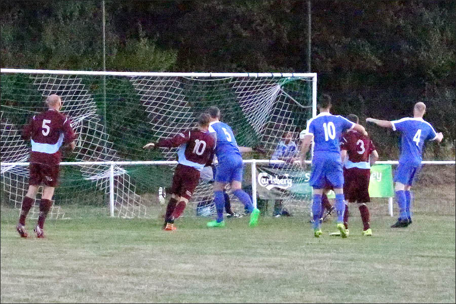 Adam Lowton open the scoring in the first minute