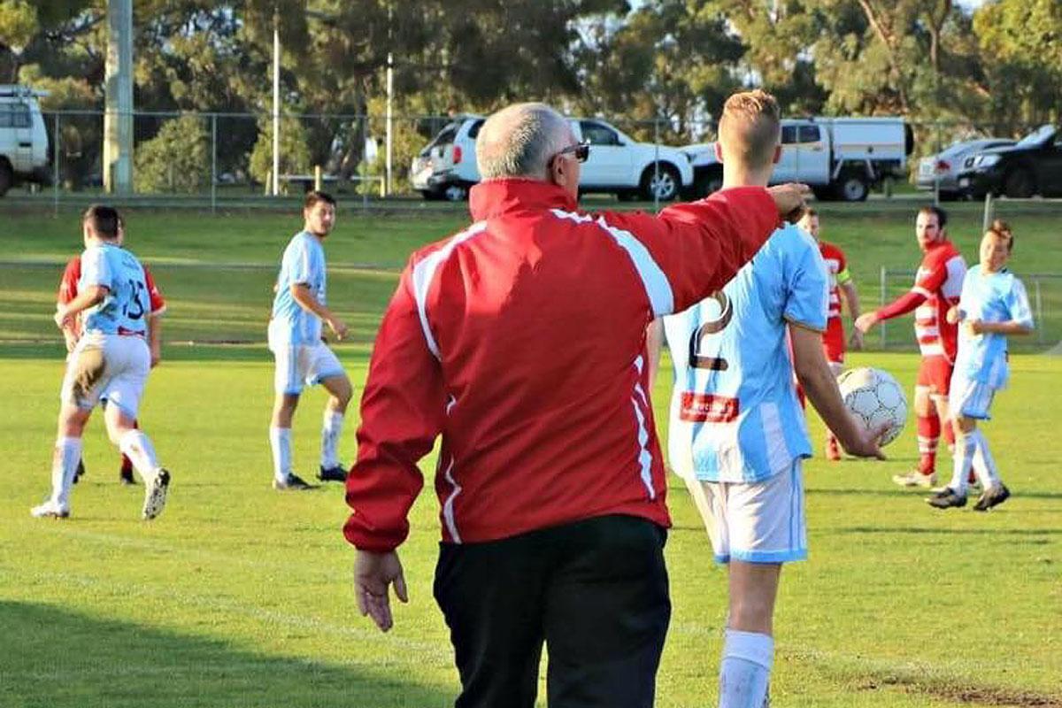 Lee Ryan, now coaching in Australia