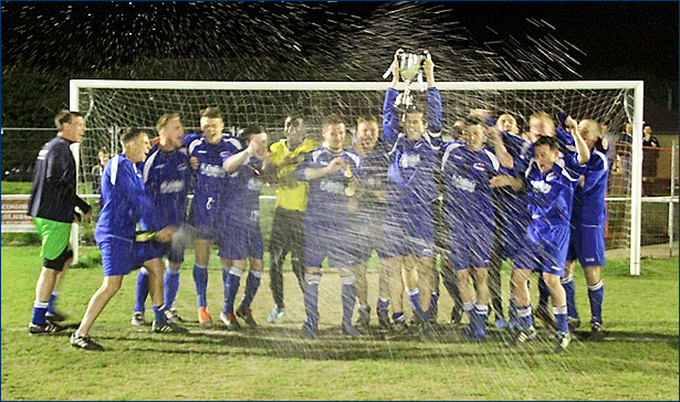 Jets celebrate their Spartan Reserves Cup win