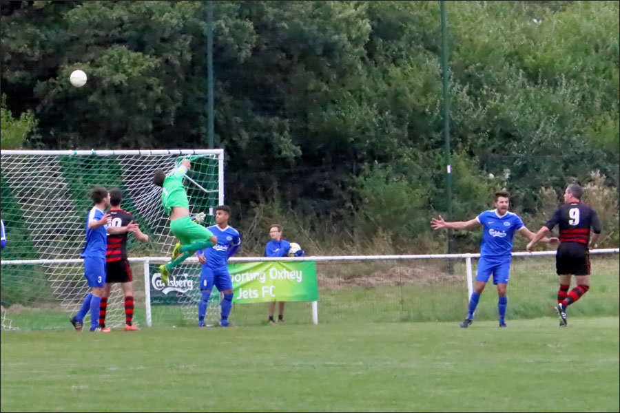 Super save from Rob Partington at 0-0