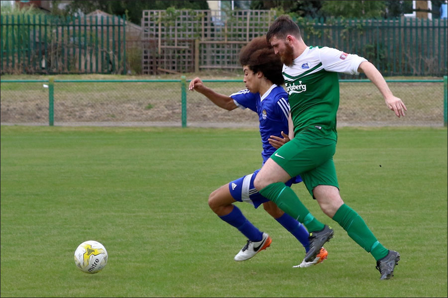Sim Armstrong and the North Greenford No 2 both had great games