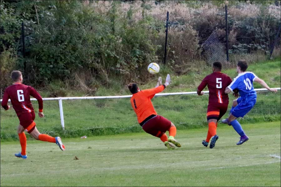 Another view of Luke Wells' 2nd goal