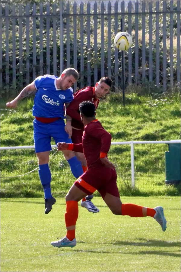 Solid defending from Jack Robertson