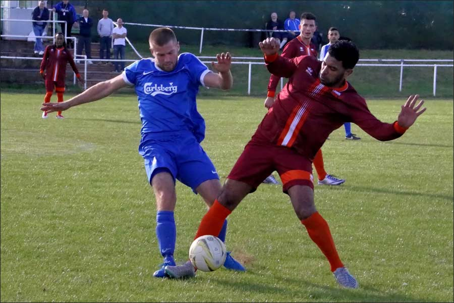 Battling midfield role from Scott Pugsley