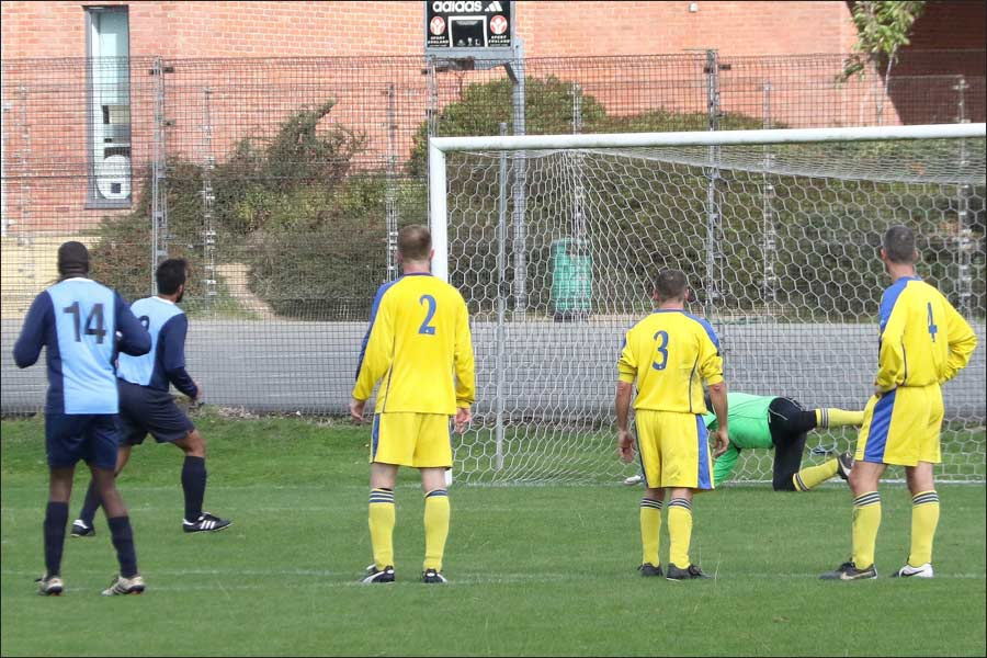 Hoodwood's winning penalty