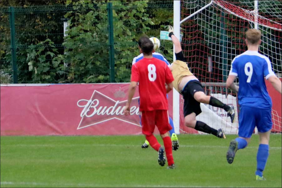 Another flying Tony Kirby save