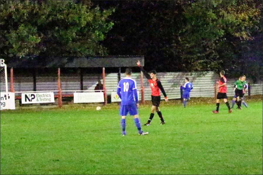 Wells rounds keeper but denied again by the flag