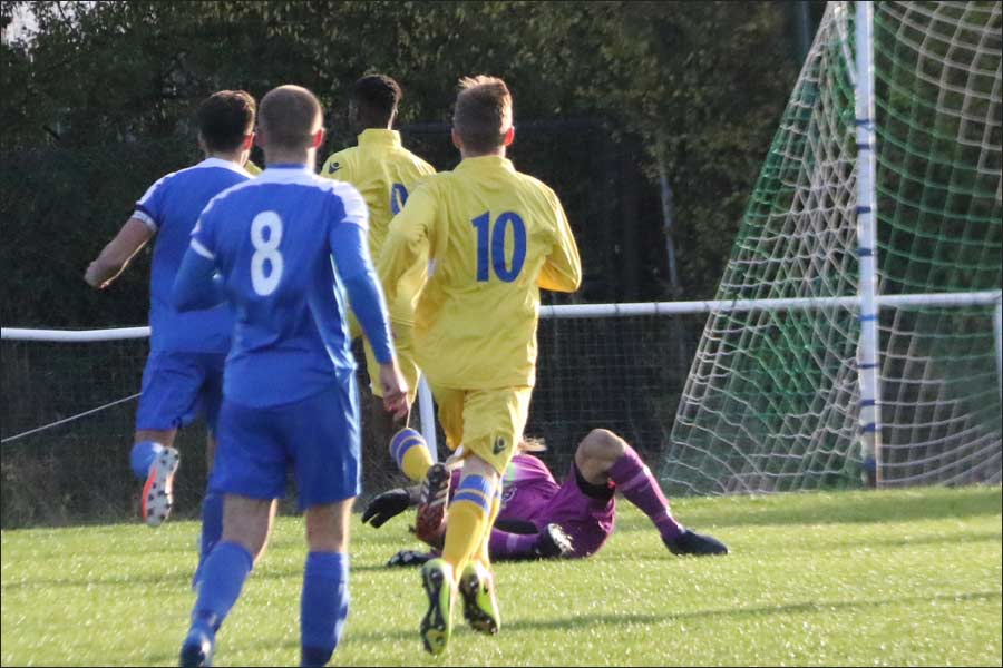 Brave save from debut keeper Liam Nugent