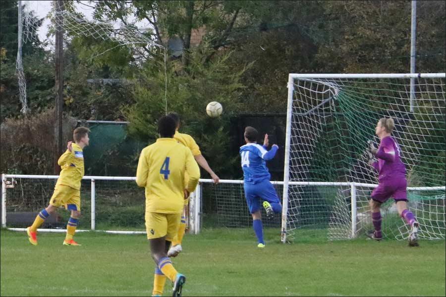 Broxbourne score their winner