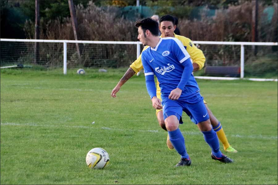 Two goal Ian Hurst