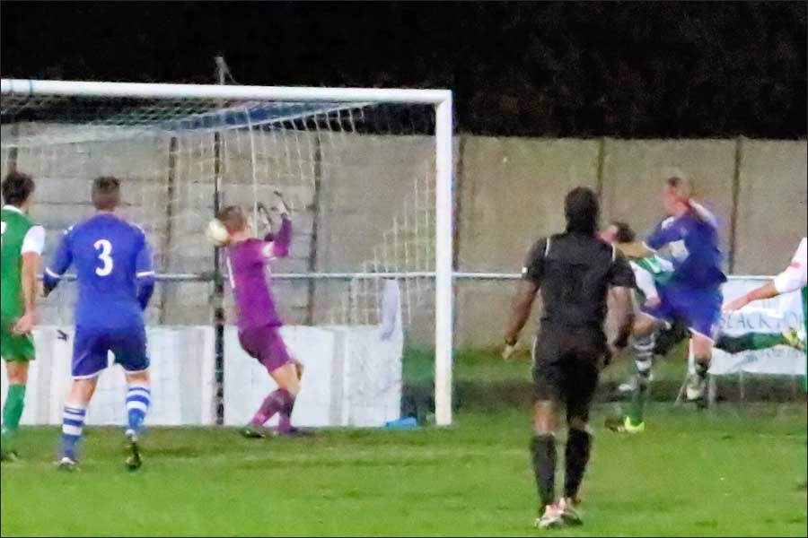 1st half hat-trick makes it 4-1 to Hertford