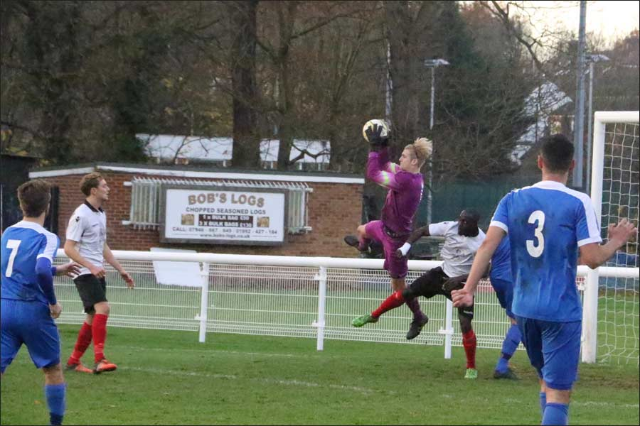 Some good saves from Liam Nugent after the early wobble
