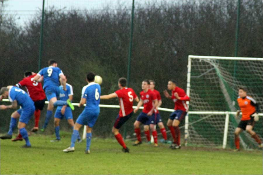 Sim Armstrong heads home to level it at 2-2