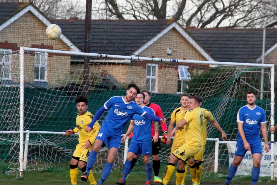 Brad Thompson came on and did a great job in the centre of defence