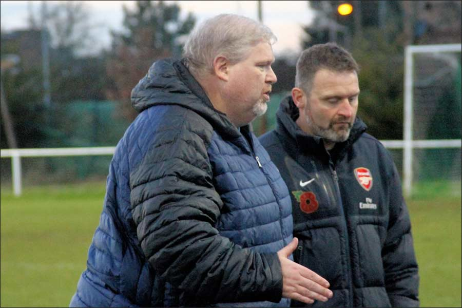 Lee and Kev plot the second half changes