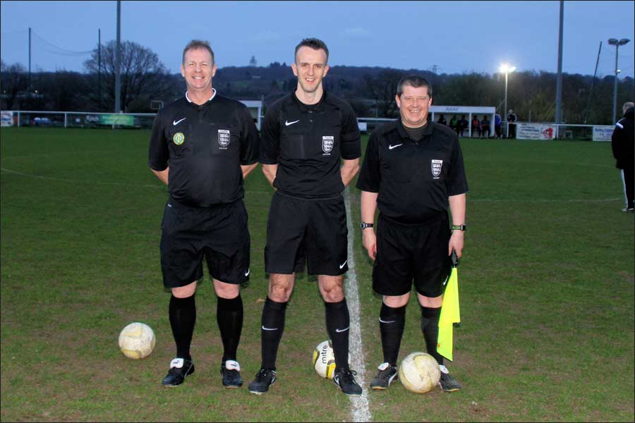 Great job from the match officials