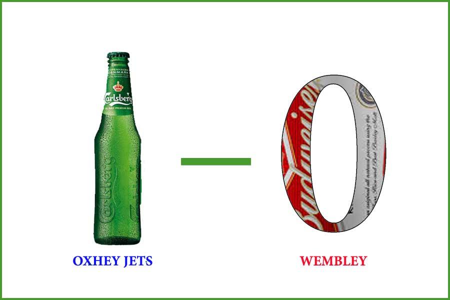 Carlsberg Jets Win 1-0