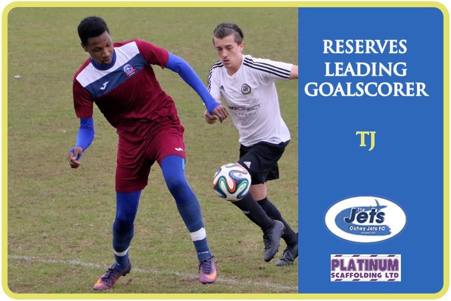 reserves leading goalscorer
