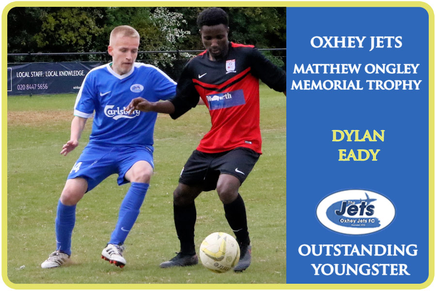 oxhey jets matthew onley memorial trophy outstanding youngster