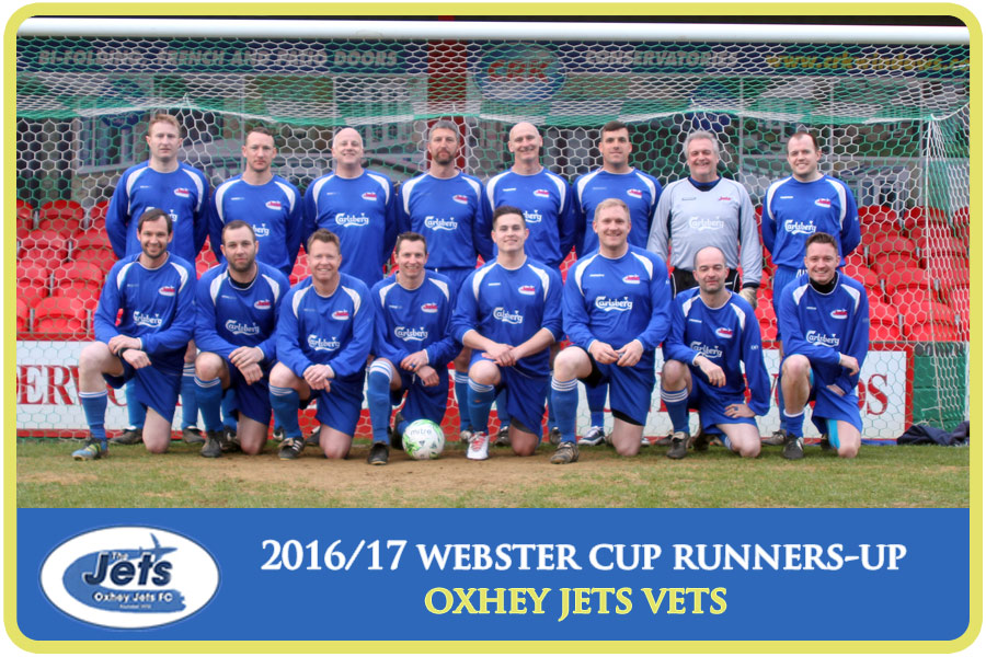 vets cup runners-up