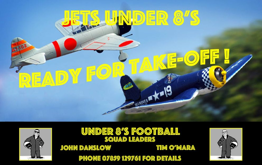 Jets Under 8 Football Team launched