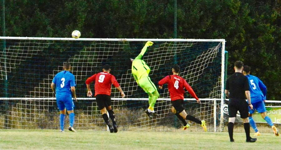 Great save from Rob Partington